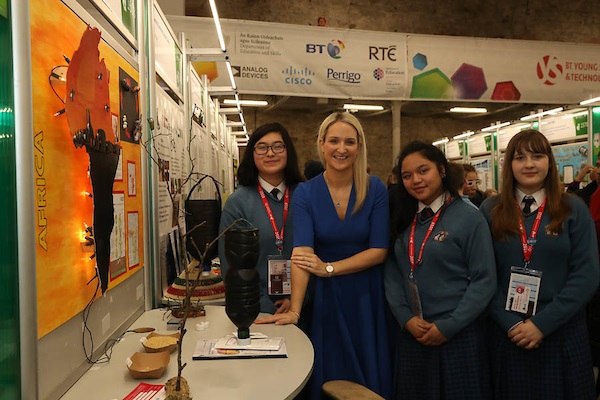 Irish Aid/Self Help Africa Science for Development Award at BTYSTE 2019