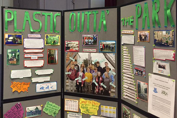 Newpark Comprehensive 'Kick Plastic Outta the Park'