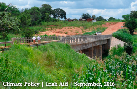 Luchimua bridge, Niassa province. Photo: Irish Aid