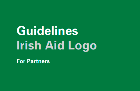 Irish Aid logo guidelines for partners